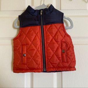 Baby boy puffer vest